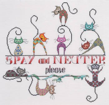 Marnic Designs Spay and Neuter please