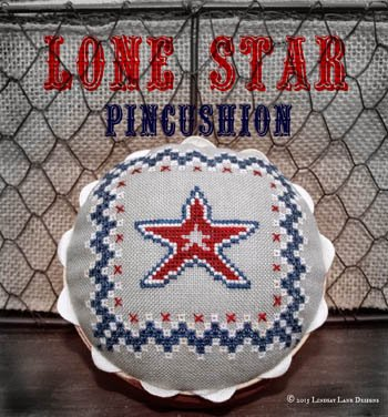 Lindsay Lane Designs Lone Star Pincushion