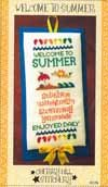 Cherry Hill Stitchery Welcome to Summer