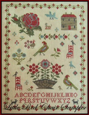 Scarlett House Little Red Chair Sampler