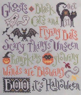 Silver Creek Samplers Scary Things October Brings