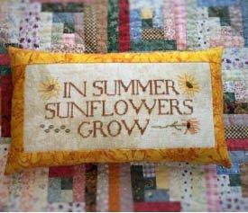 Death By Thread Sunflowers Grow