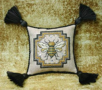 The Bee Cottage Bee Pincushion