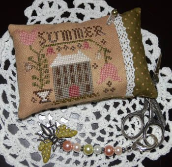 Abby Rose Designs A Summer Pin Pillow