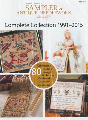Sampler & Antique Needlework Quarterly Complete Collection 1991-2015 DVD