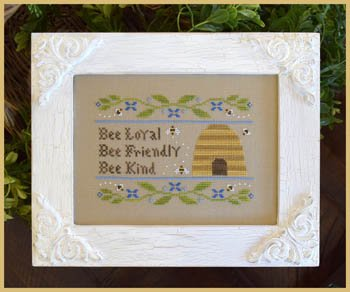 Country Cottage Needleworks Bee Virtues
