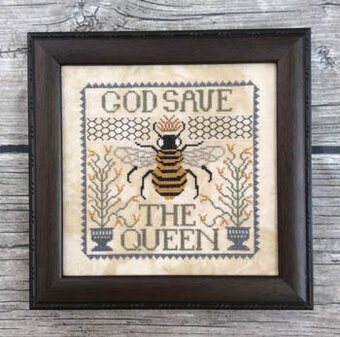 Annie Beez Folk Art God Save the Queen