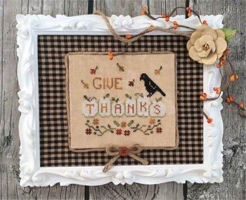 Annie Beez Folk Art Thankful Pumpkins