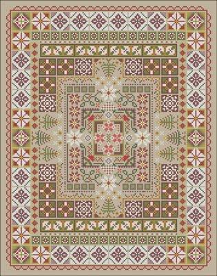 Carolyn Manning Designs / CM Designs Yuletide Garden Labyrinth