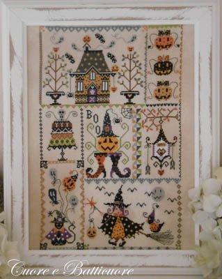 Cuore e Batticuore Halloween in Quilt