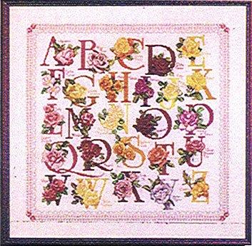 Vermillion Stitchery The Rose Alphabet