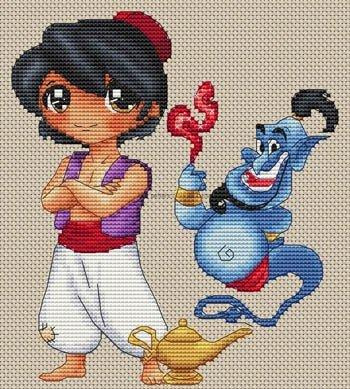 Les Petites Croix de Lucie Aladin Et La Lampe Magique (Aladin)