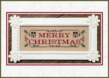 Country Cottage Needleworks Merry Christmas