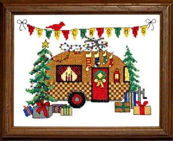 Bobbie G. Designs Christmas Camper