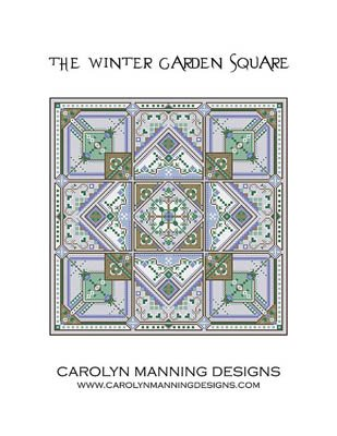 Carolyn Manning Designs / CM Designs The Winter Garden Square