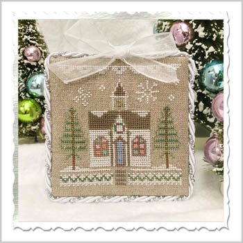 Country Cottage Needleworks Glitter Village - Glitter House 5