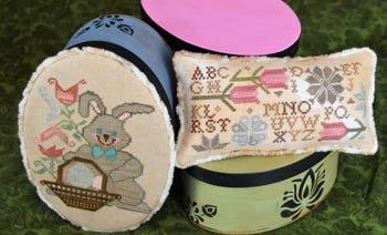 Abby Rose Designs Bunny & Tulips