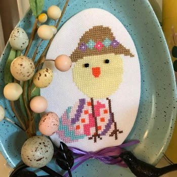 luhustitches Luhu Bird: Easter Bonnet