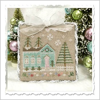 Country Cottage Needleworks Glitter Village - Glitter House 7