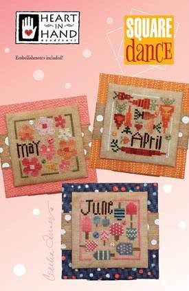 Heart in Hand Square Dance April-June with buttons