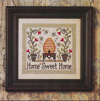 The Bee Company Home Sweet Home w/embellishments