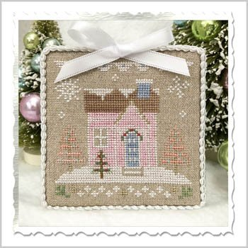 Country Cottage Needleworks Glitter Village - Glitter House 8