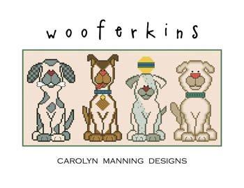 Carolyn Manning Designs / CM Designs Wooferkins