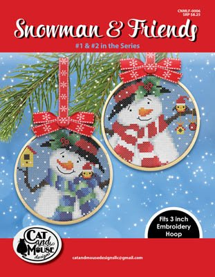 Cat and Mouse Designs Snowman & Friends (#3 & #4)