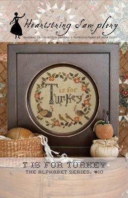Heartstring Samplery T is for Turkey