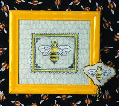 The Bee Cottage Bertie Bee & Fob (includes embellishments)