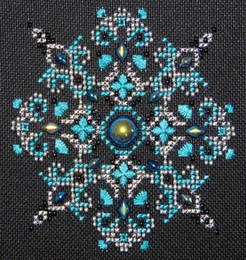 Northern Expressions + Shannon Christine Designs Sparkler: #4 Jet Aurora Borealis