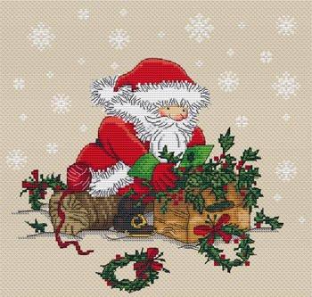 Les Petites Croix de Lucie Christmas Preparations