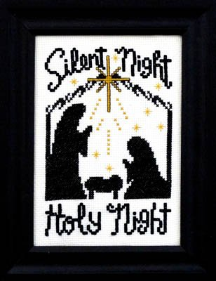 Bobbie G. Designs Silent Night Holy Night
