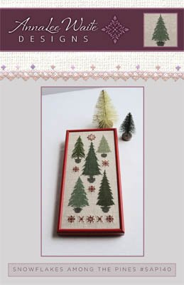 Annalee Waite Designs Snowflakes Among the Pines