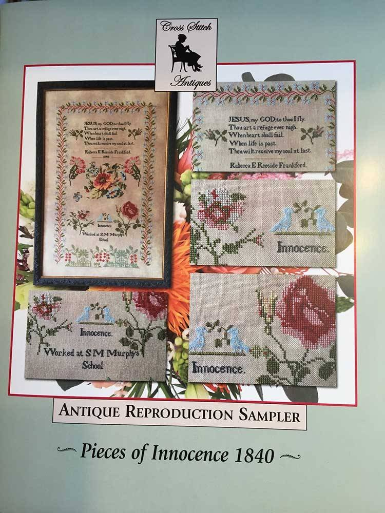 Cross Stitch Antiques Pieces of Innocence 1840