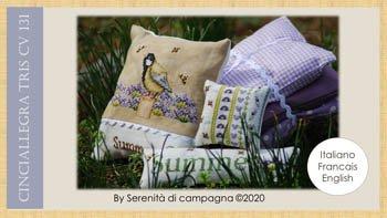 Serenita di campagna Cinciallegra Tris Summer