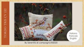Serenita di campagna Tordo Tris Autumn