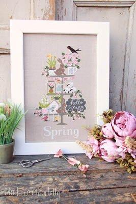 Madame Chantilly Celebrate Spring