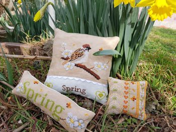 Serenita di campagna Passerotto Tris Spring
