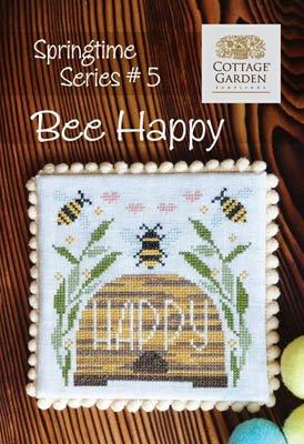 Cottage Garden Samplings Springtime Series #5 Bee Happy