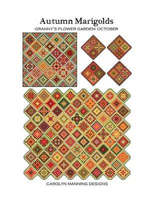 CM Designs Autumn Marigolds