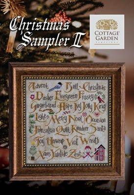 Cottage Garden Christmas Sampler II