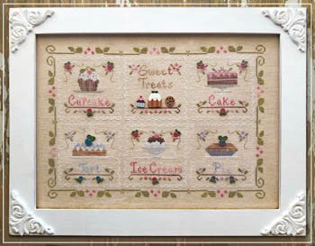 Country Cottage Needleworks Sweet Treat - chart only