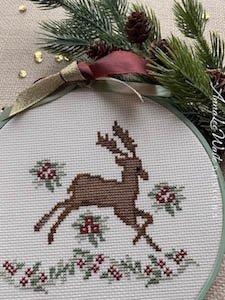 AnnaLee Waite Designs Regal Reindeer
