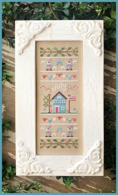 Country Cottage Needleworks Sampler of the Month - July