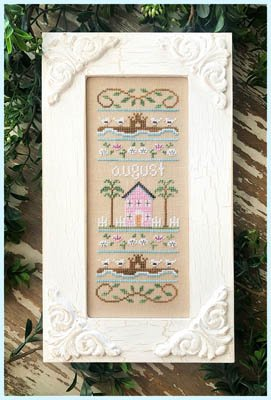Country Cottage Needleworks Sampler of the Month - August