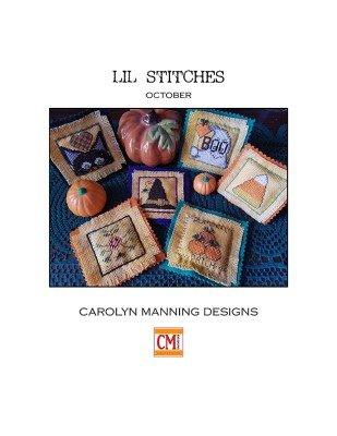 Carolyn Manning Designs / CM Designs Lil Stitches October