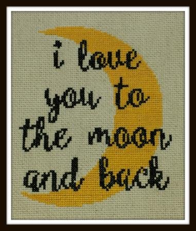 Iris Originals I Love You to the Moon and Back