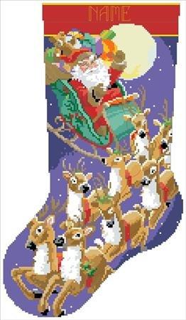 Kooler Classic Charts Up Up & Away Christmas Stocking