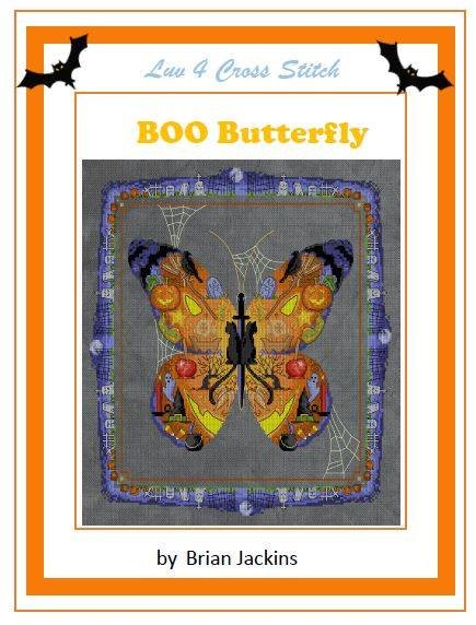 Luv 4 Cross Stitch BOO Butterfly